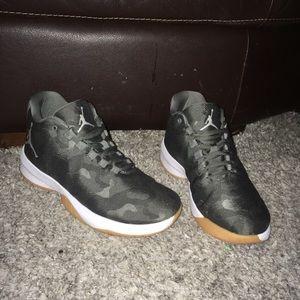 Jordan B.fly River Rock Camo Gray Shoes